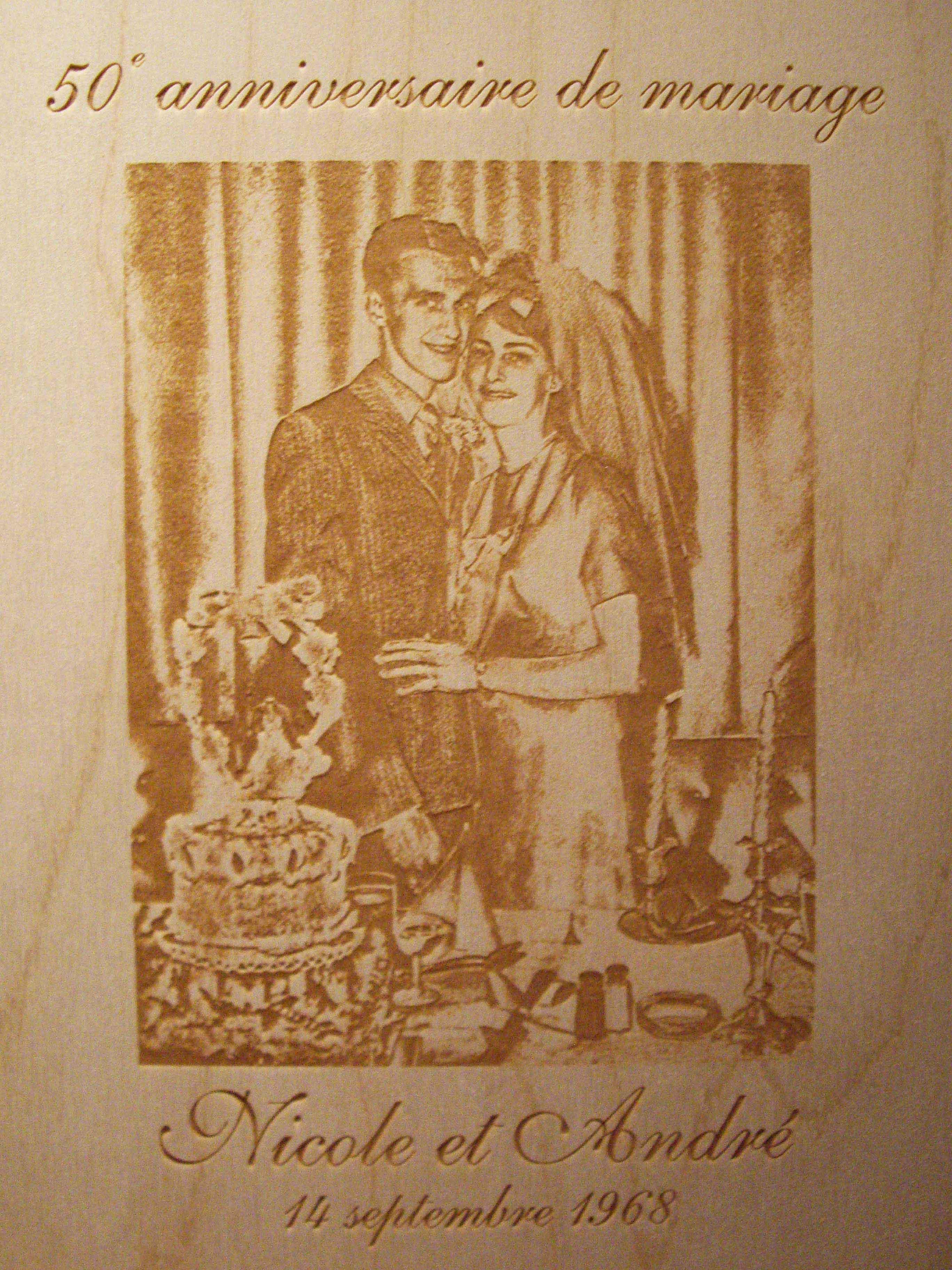 personnalis/é grav/é au Laser en Acier Inoxydable Flasque Anniversaire Mariage Anniversaire Cadeau personnalis/é Noir